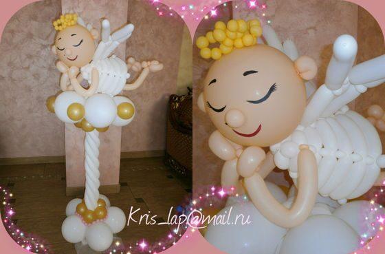 ангел из шаров фото