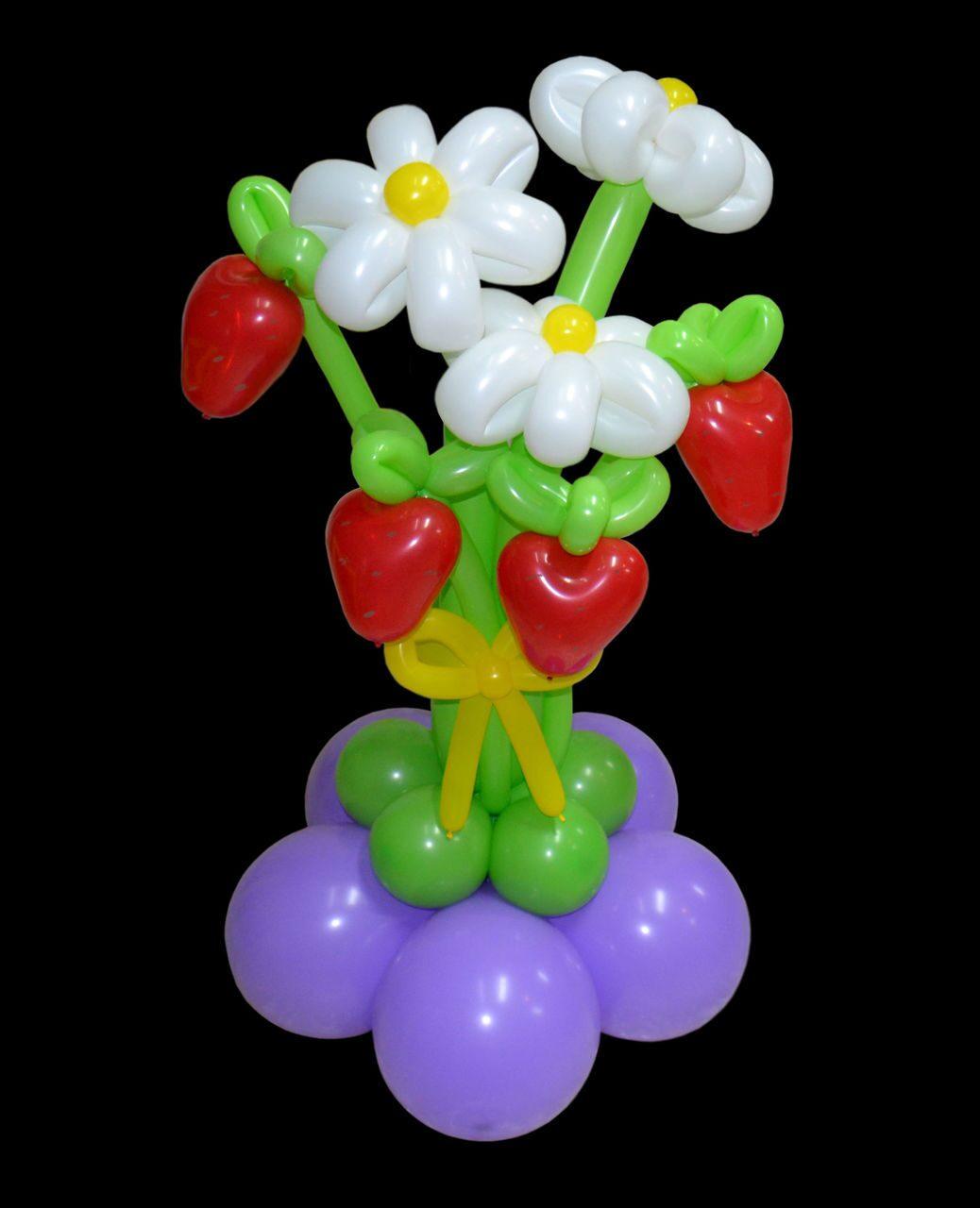 Букет из воздушных шариков
